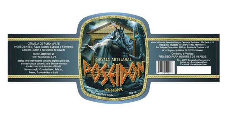 Pantheon, Poseidon, cerveja dos deuses - Imagem Divulgação