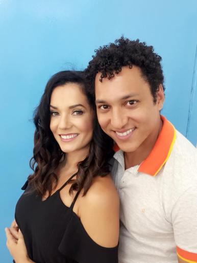 Mônica Carvalho e Lúcio Matias - Foto Divulgação